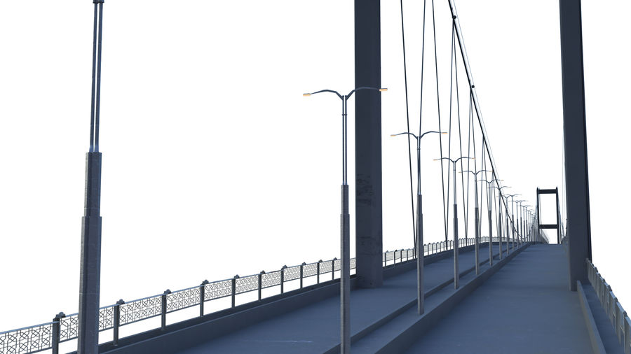 bridge royalty-free 3d model - Preview no. 4