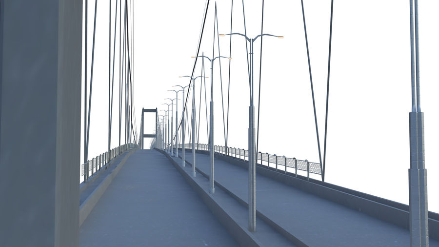 bridge royalty-free 3d model - Preview no. 1