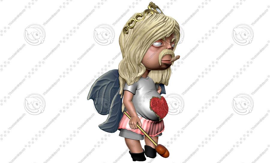 Niño de San Valentín royalty-free modelo 3d - Preview no. 10