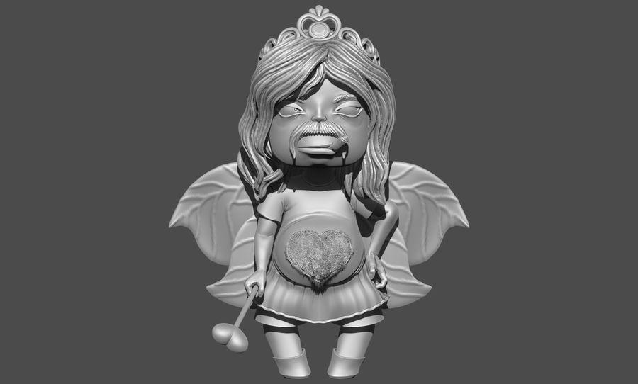 Niño de San Valentín royalty-free modelo 3d - Preview no. 3