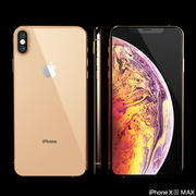 IPhone XS, XSMAX, XR 3d model