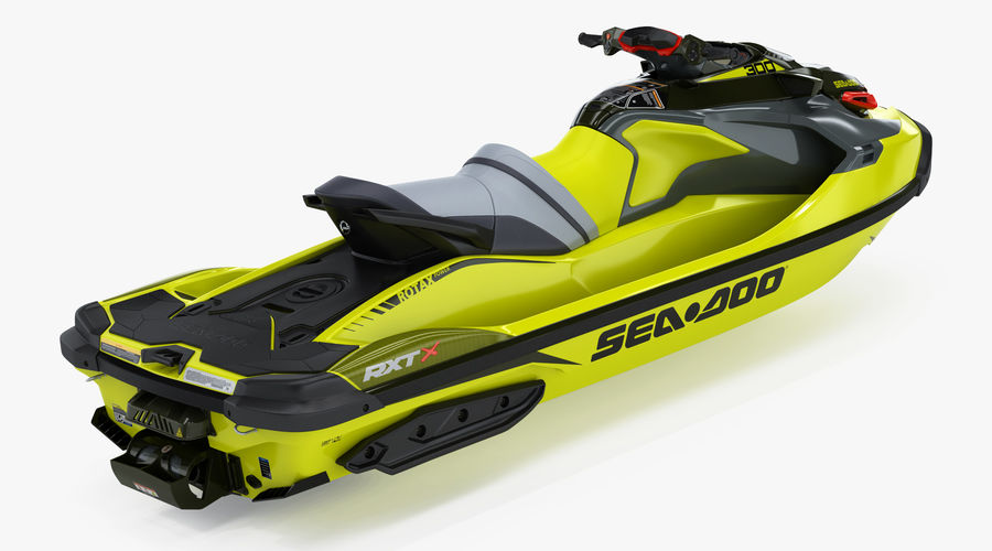 Sea-Doo RXT-X 300 Performance Watercraft 2019 royalty-free 3d model - Preview no. 6