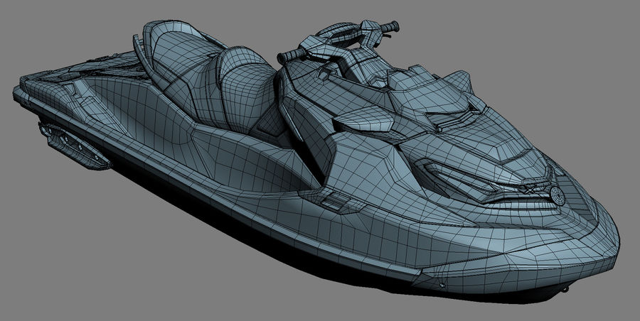 Sea-Doo RXT-X 300 Performance Watercraft 2019 royalty-free 3d model - Preview no. 20