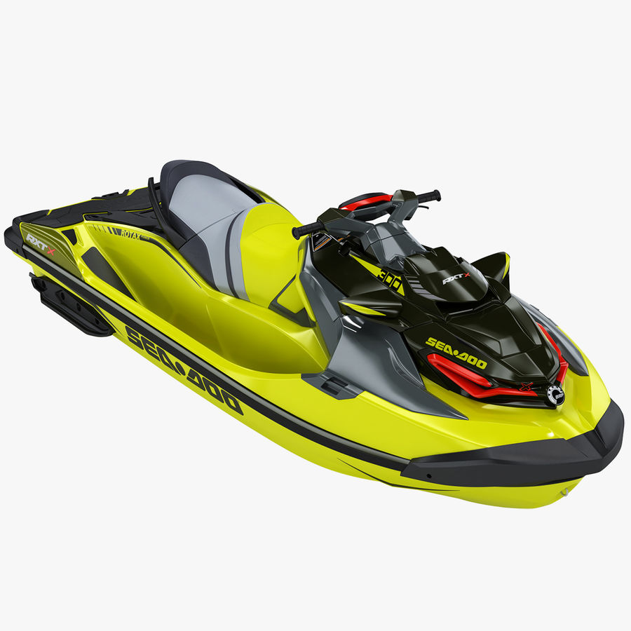 Sea-Doo RXT-X 300 Performance Watercraft 2019 royalty-free 3d model - Preview no. 1