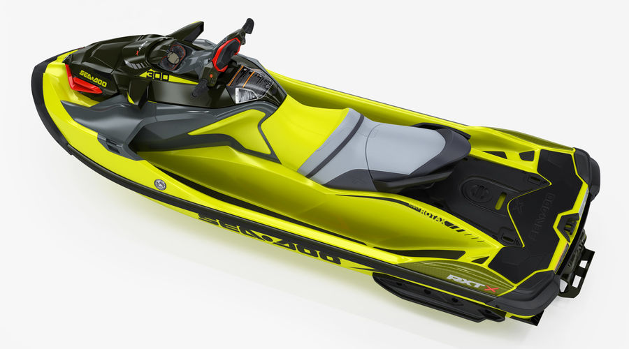 Sea-Doo RXT-X 300 Performance Watercraft 2019 royalty-free 3d model - Preview no. 4