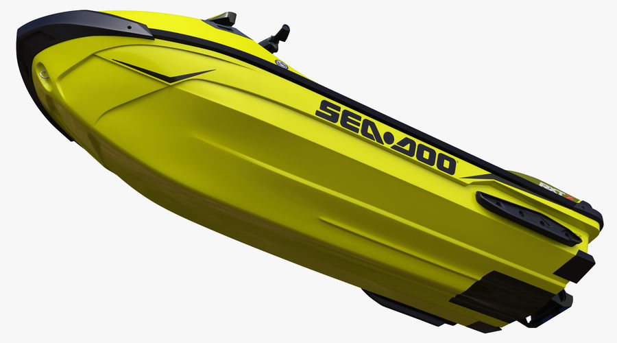 Sea-Doo RXT-X 300 Performance Watercraft 2019 royalty-free 3d model - Preview no. 12
