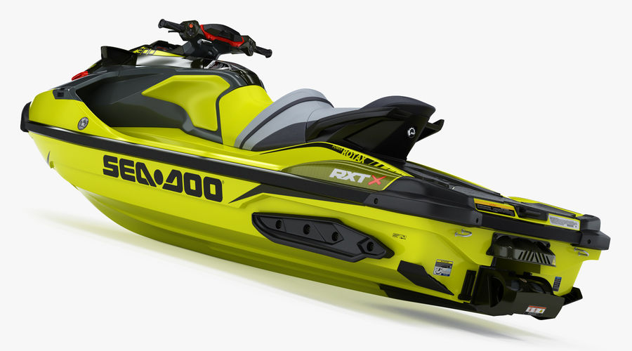 Sea-Doo RXT-X 300 Performance Watercraft 2019 royalty-free 3d model - Preview no. 7