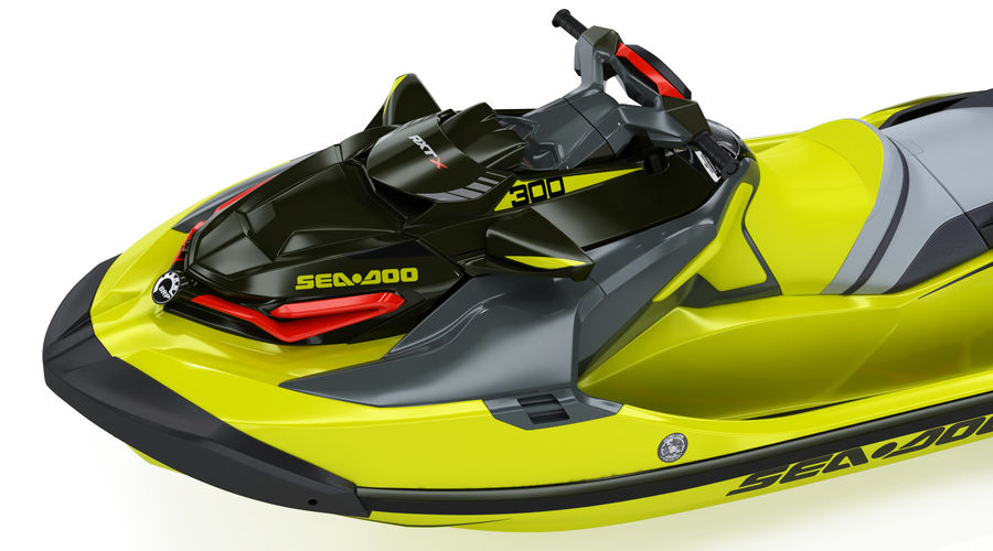 Sea-Doo RXT-X 300 Performance Watercraft 2019 royalty-free 3d model - Preview no. 14