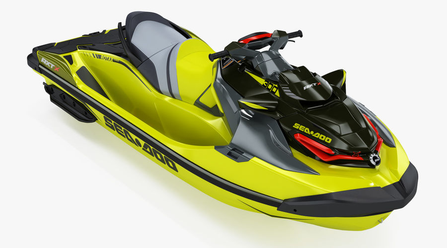 Sea-Doo RXT-X 300 Performance Watercraft 2019 royalty-free 3d model - Preview no. 2