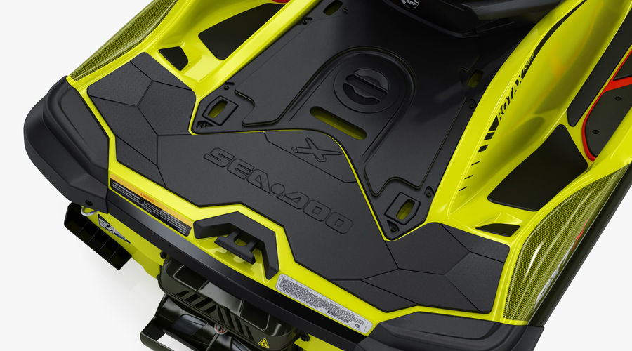 Sea-Doo RXT-X 300 Performance Watercraft 2019 royalty-free 3d model - Preview no. 17