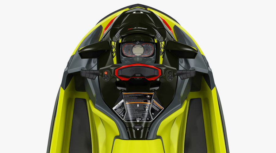 Sea-Doo RXT-X 300 Performance Watercraft 2019 royalty-free 3d model - Preview no. 8