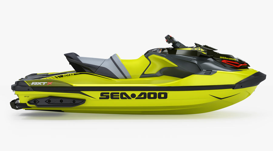 Sea-Doo RXT-X 300 Performance Watercraft 2019 royalty-free 3d model - Preview no. 3