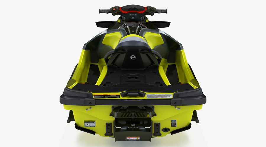 Sea-Doo RXT-X 300 Performance Watercraft 2019 royalty-free 3d model - Preview no. 9