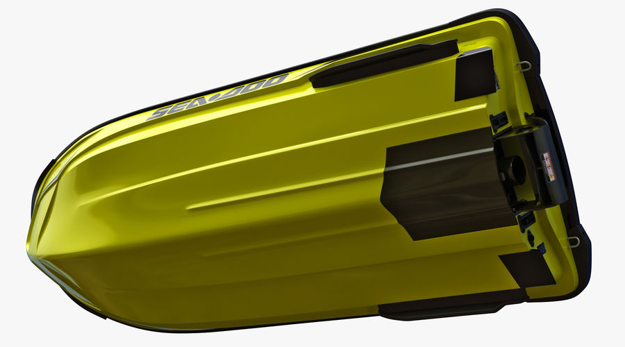 Sea-Doo RXT-X 300 Performance Watercraft 2019 royalty-free 3d model - Preview no. 13
