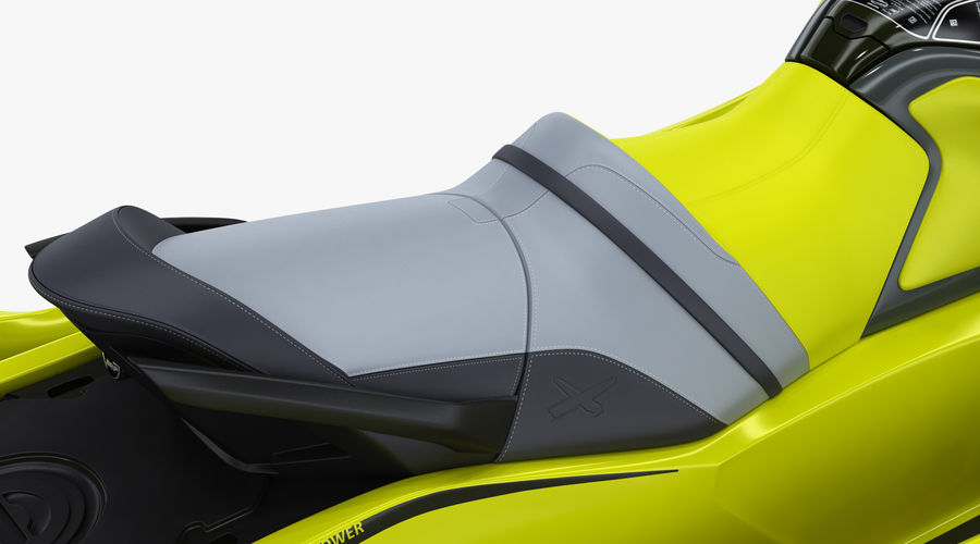 Sea-Doo RXT-X 300 Performance Watercraft 2019 royalty-free 3d model - Preview no. 16