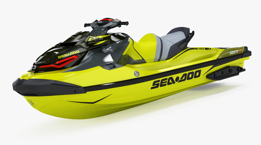 Sea-Doo RXT-X 300 Performance Watercraft 2019 royalty-free 3d model - Preview no. 5