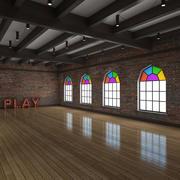 Ballet-Dance Studio modelo 3d