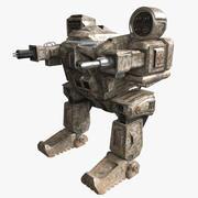 Mech 3d model