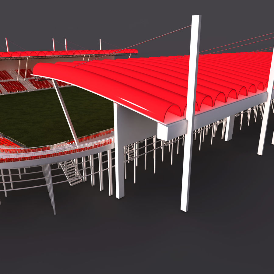 Stadium Arena royalty-free 3d model - Preview no. 8