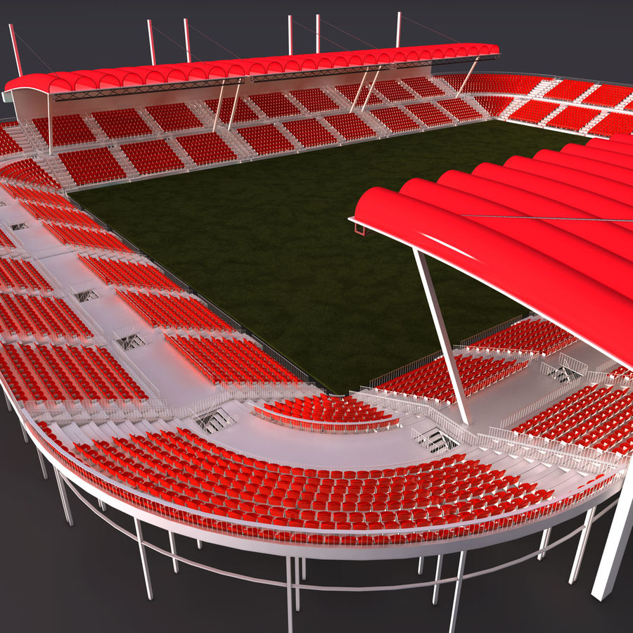Stadium Arena royalty-free 3d model - Preview no. 4