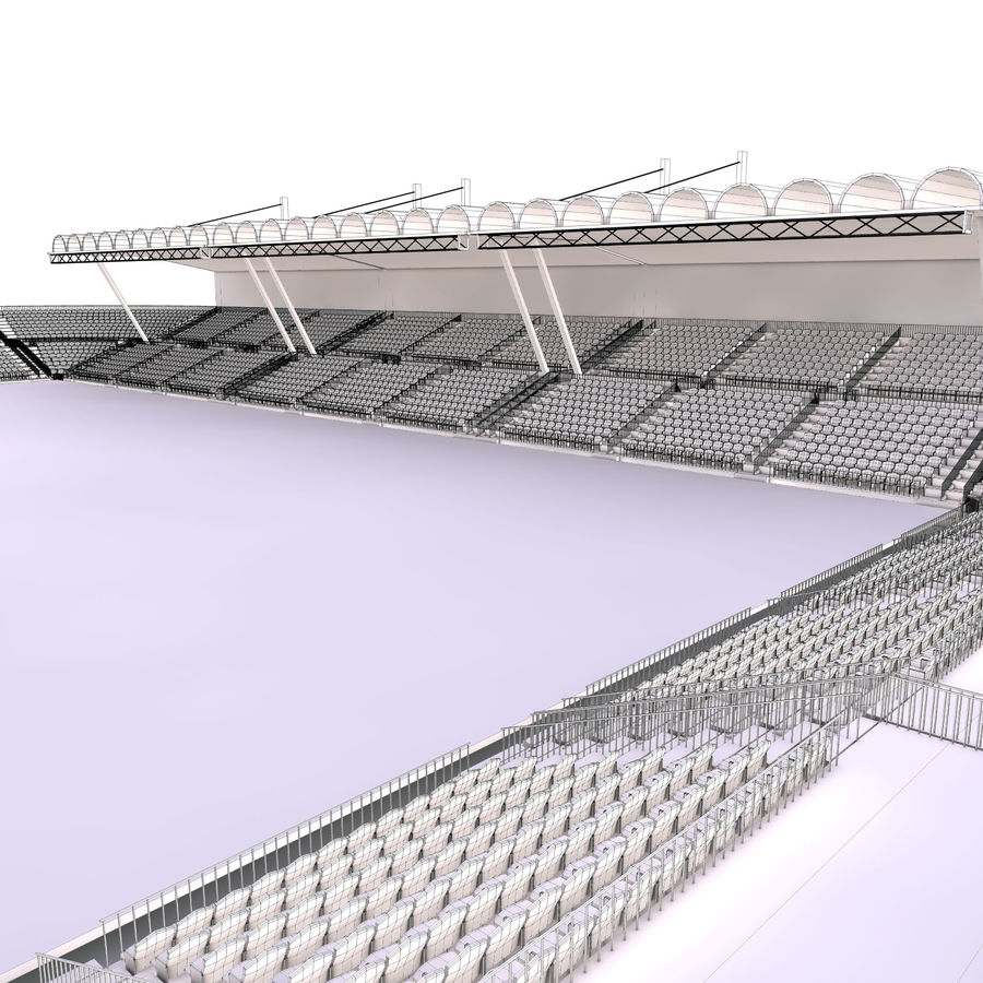 Stadium Arena royalty-free 3d model - Preview no. 11