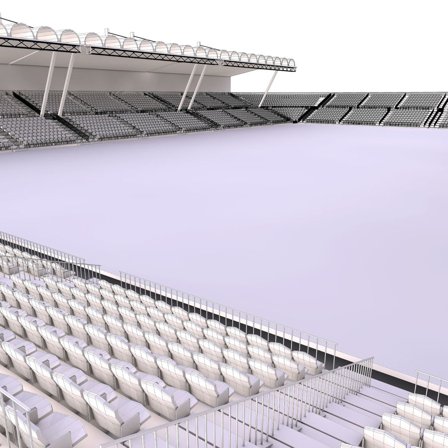 Stadium Arena royalty-free 3d model - Preview no. 13