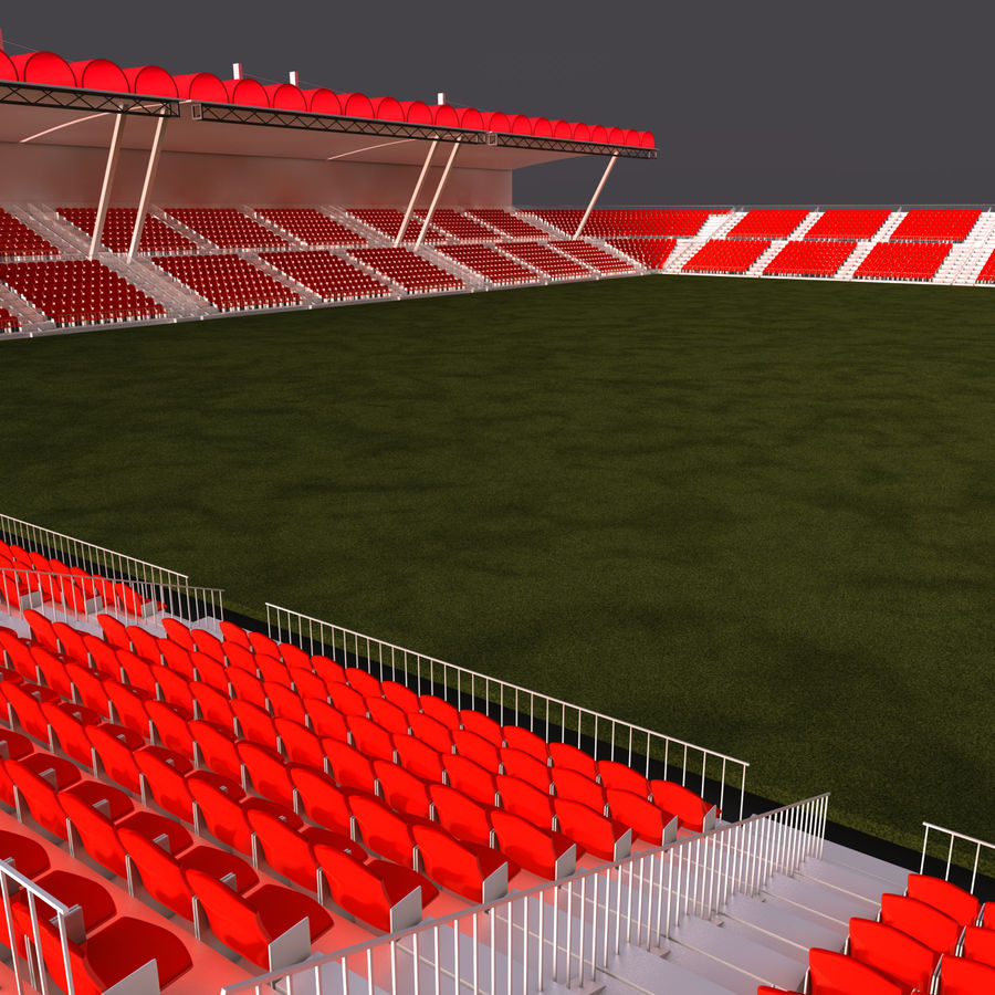 Stadium Arena royalty-free 3d model - Preview no. 5