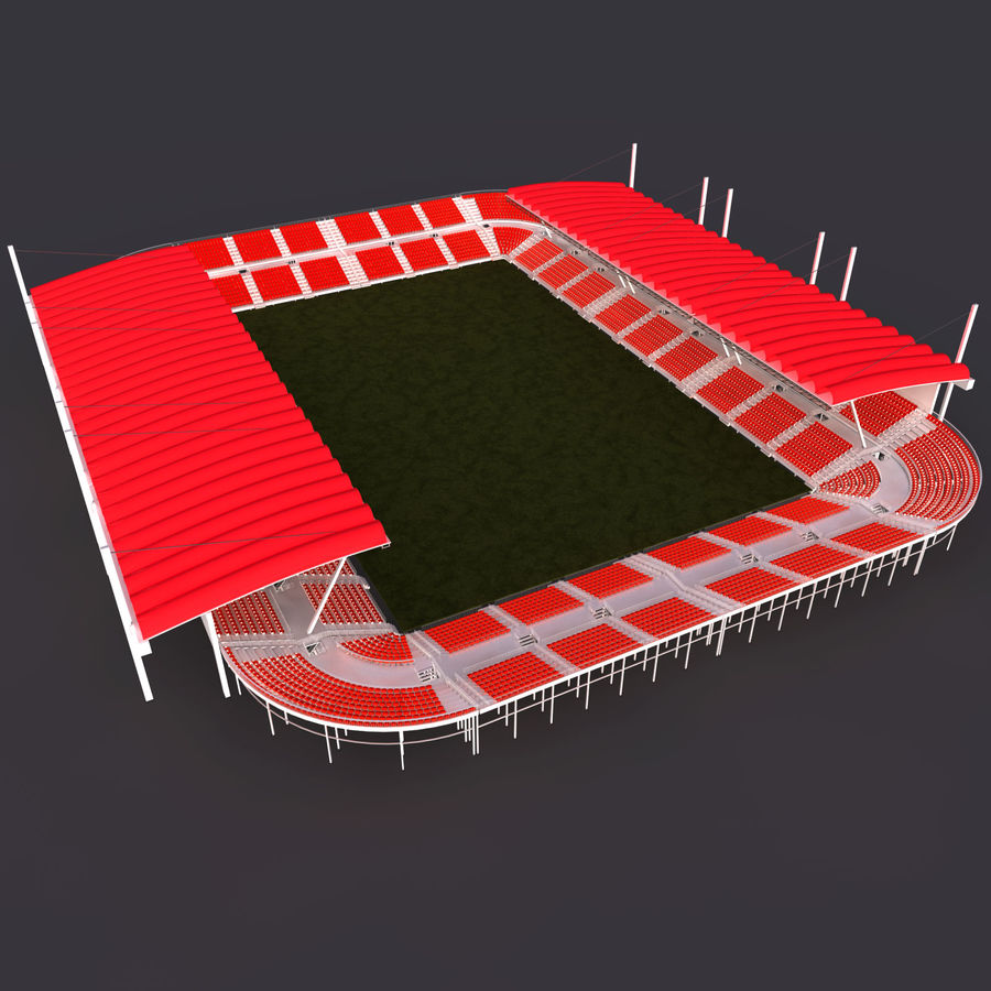 Stadium Arena royalty-free 3d model - Preview no. 1