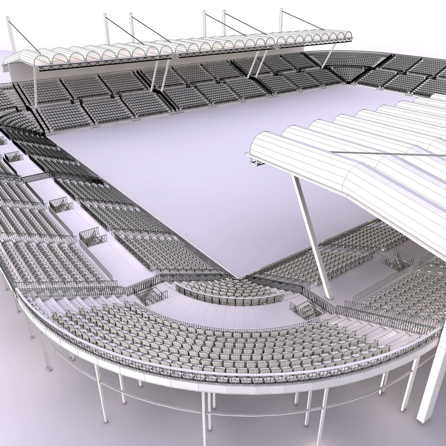 Stadium Arena royalty-free 3d model - Preview no. 12