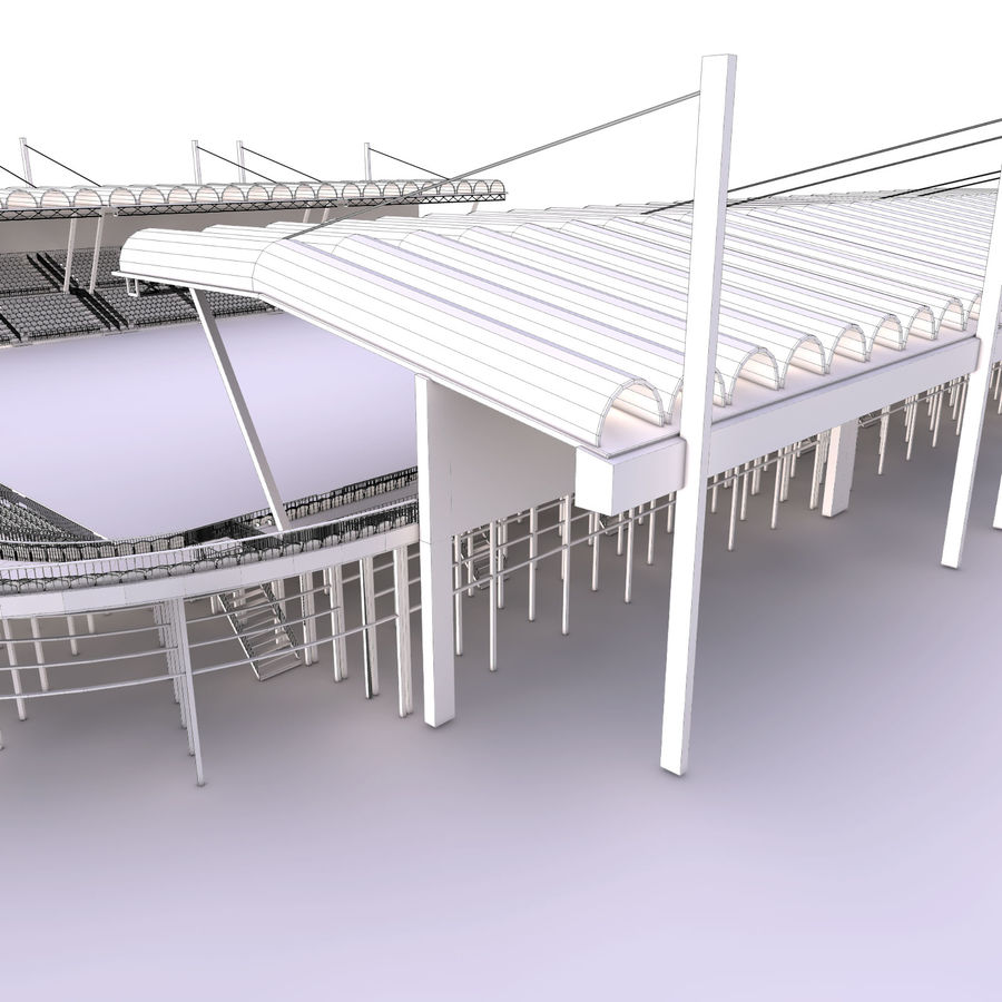 Stadium Arena royalty-free 3d model - Preview no. 16