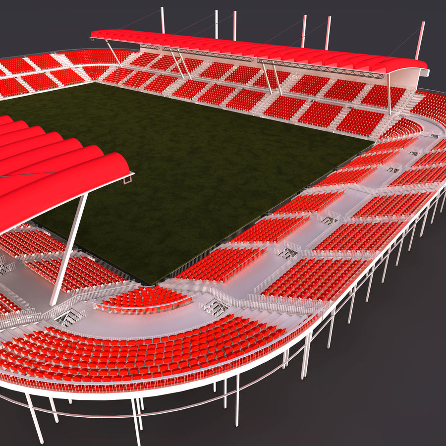 Stadium Arena royalty-free 3d model - Preview no. 2