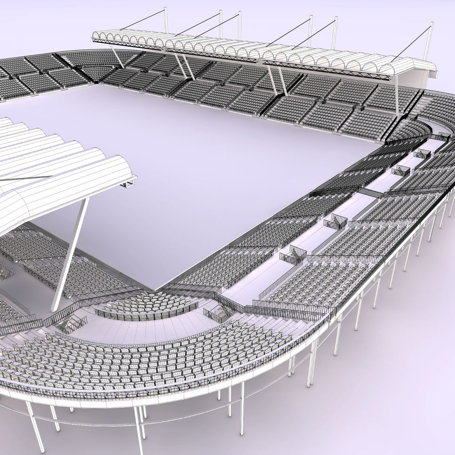 Stadium Arena royalty-free 3d model - Preview no. 10