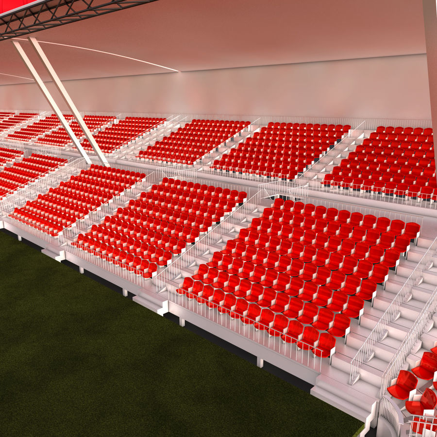 Stadium Arena royalty-free 3d model - Preview no. 6