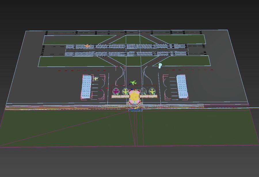 Aeropuerto royalty-free modelo 3d - Preview no. 7