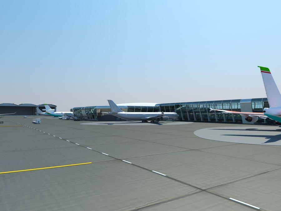 Aeropuerto royalty-free modelo 3d - Preview no. 4