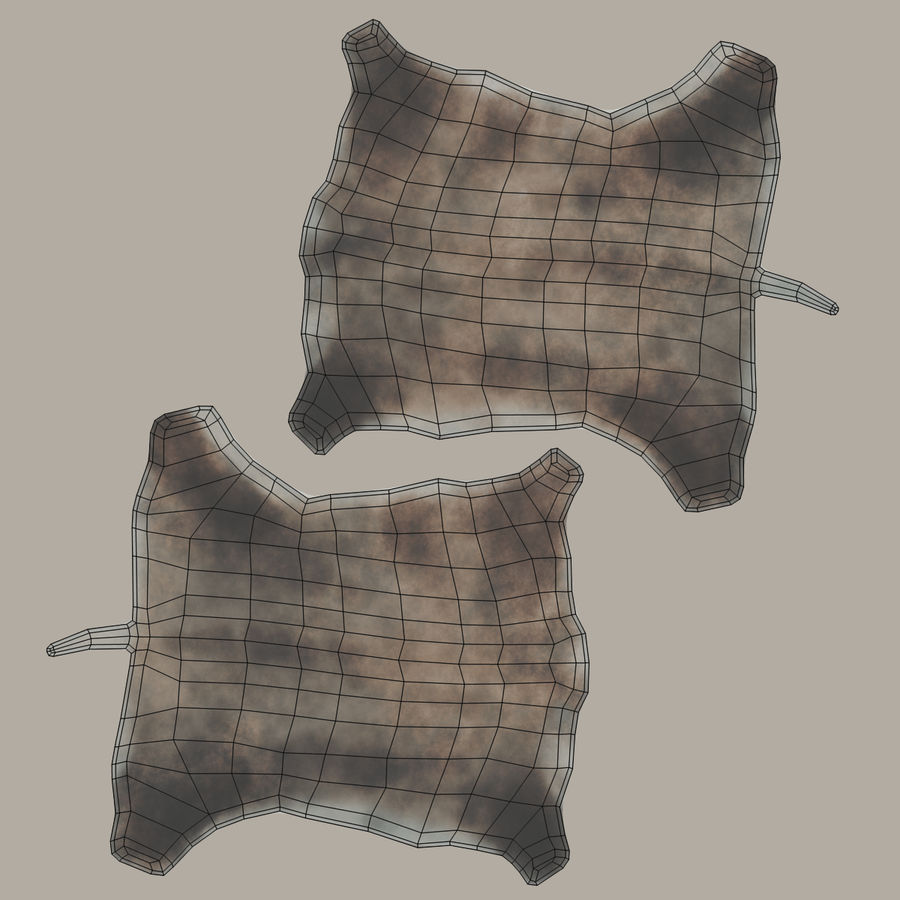 Animal Skins royalty-free 3d model - Preview no. 8