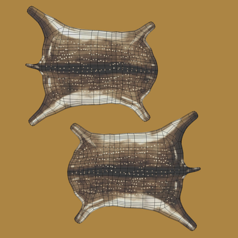 Animal Skins royalty-free 3d model - Preview no. 9