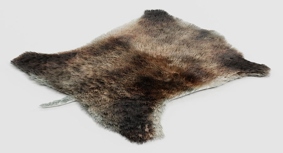 Animal Skins royalty-free 3d model - Preview no. 17