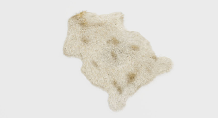 Animal Skins royalty-free 3d model - Preview no. 21