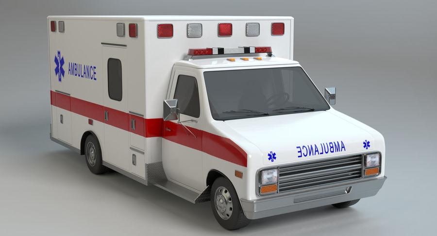 Ambulancia royalty-free modelo 3d - Preview no. 3