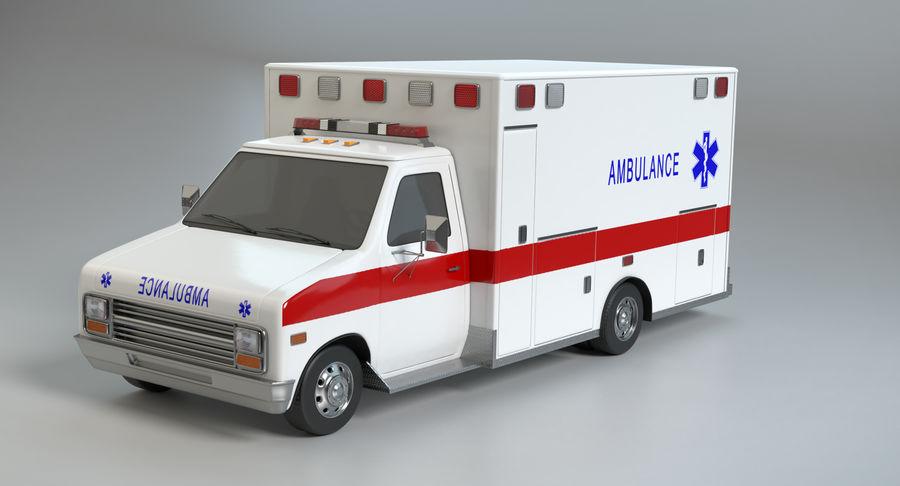 Ambulancia royalty-free modelo 3d - Preview no. 10
