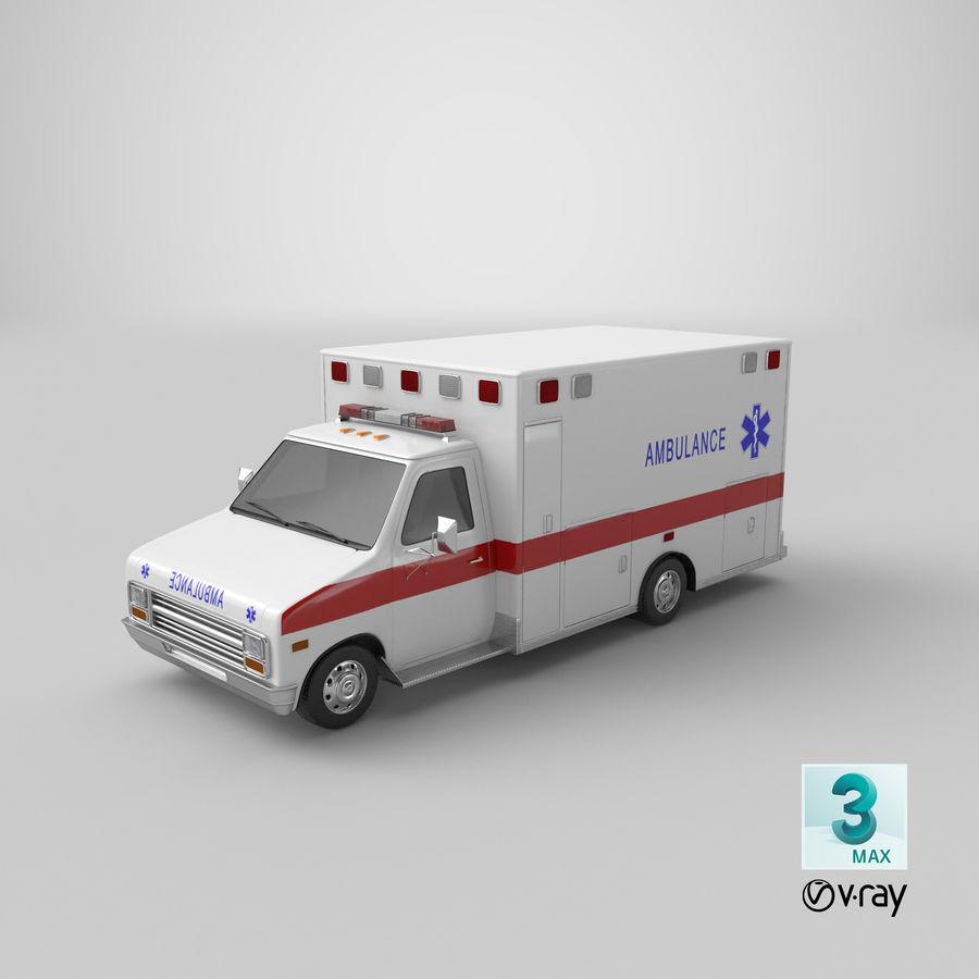Ambulancia royalty-free modelo 3d - Preview no. 28