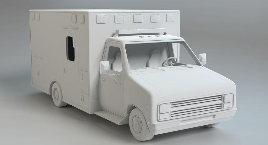 Ambulancia royalty-free modelo 3d - Preview no. 13
