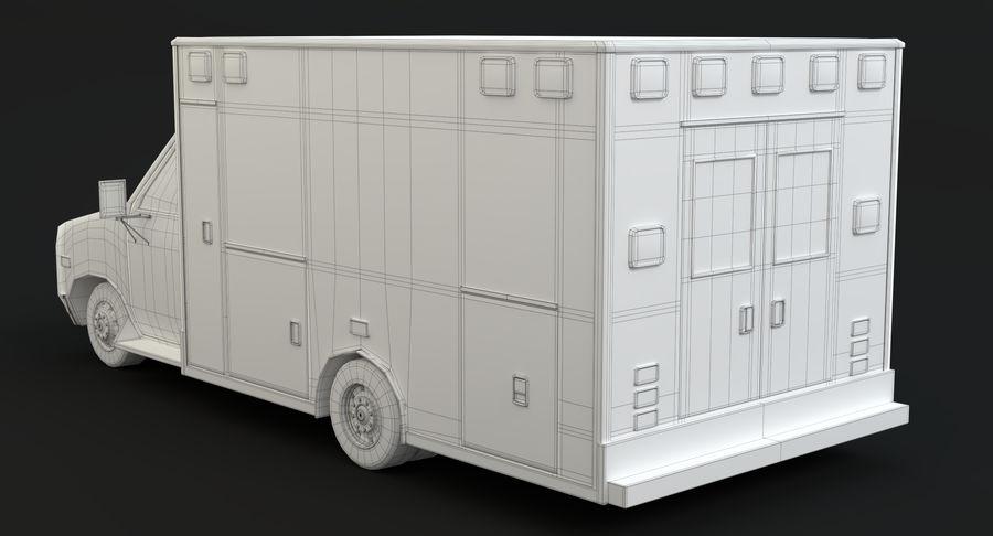 Ambulancia royalty-free modelo 3d - Preview no. 21