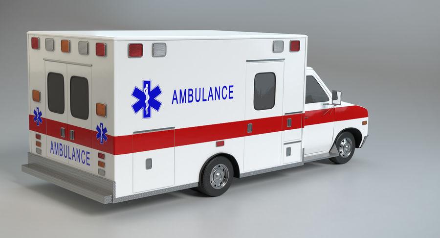 Ambulancia royalty-free modelo 3d - Preview no. 6