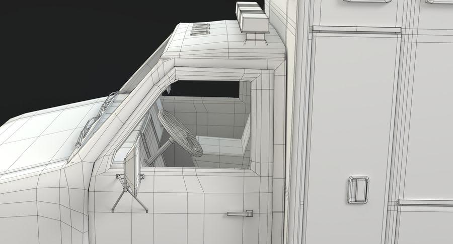 Ambulancia royalty-free modelo 3d - Preview no. 23