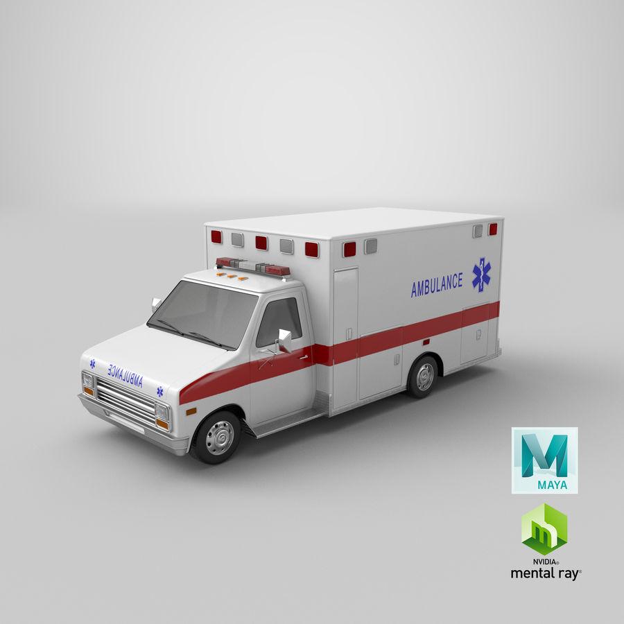 Ambulancia royalty-free modelo 3d - Preview no. 27