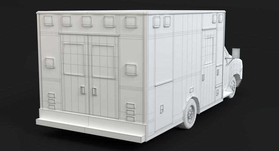 Ambulancia royalty-free modelo 3d - Preview no. 19