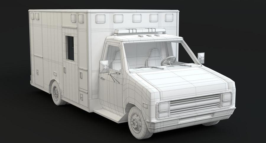 Ambulancia royalty-free modelo 3d - Preview no. 17