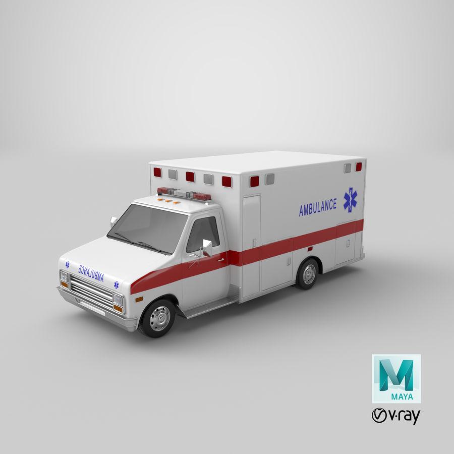Ambulancia royalty-free modelo 3d - Preview no. 26